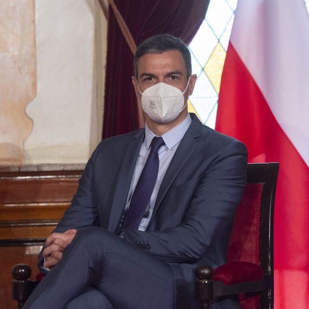 La foto de Pedro Sánchez en la que no se retrata