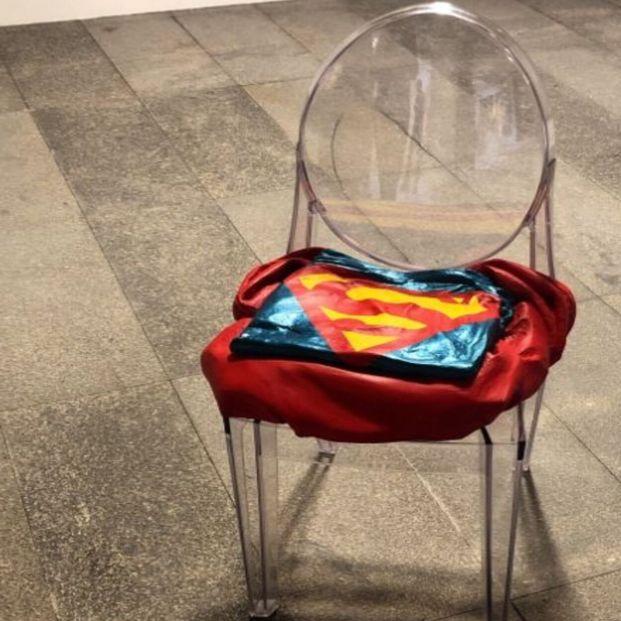 La silla del abuelo Superman
