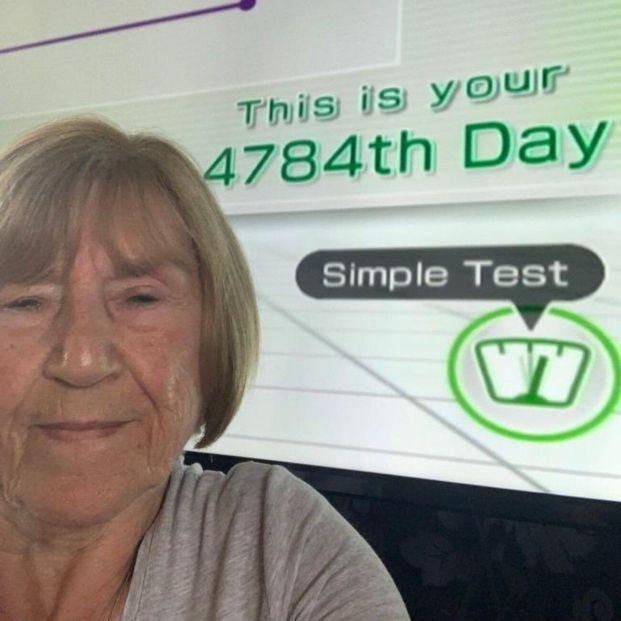Una abuela consigue llegar a los 4784 días en el juego Wii Fit