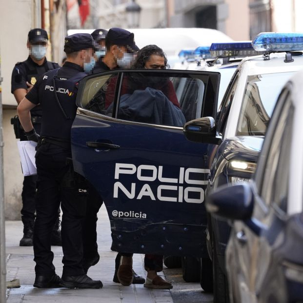Diego 'El Cigala' en libertad tras declarar ante el juez por un presunto delito de malos tratos. Foto: Europa Press