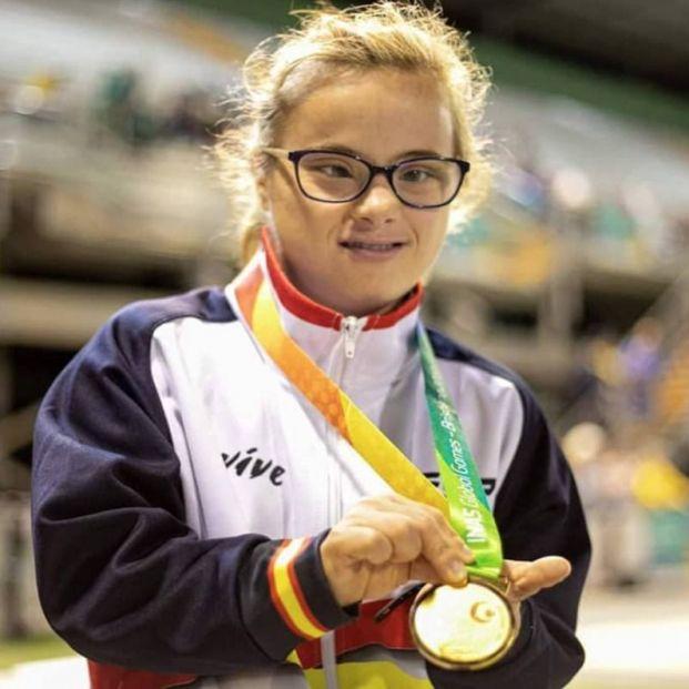 Blanca Betanzos, medalla de oro en los 100 metros del Mundial de Polonia