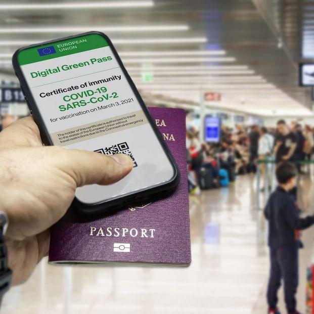 Solicita el Certificado Digital Europeo Covid desde tu móvil Foto: bigstock