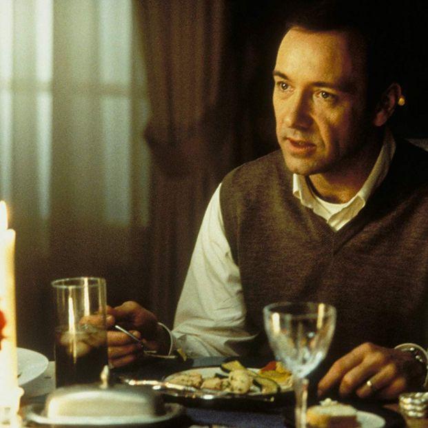 Kevin Spacey en American Beauty, una obra fundamental en el cine de 1999 (Dreamworks)