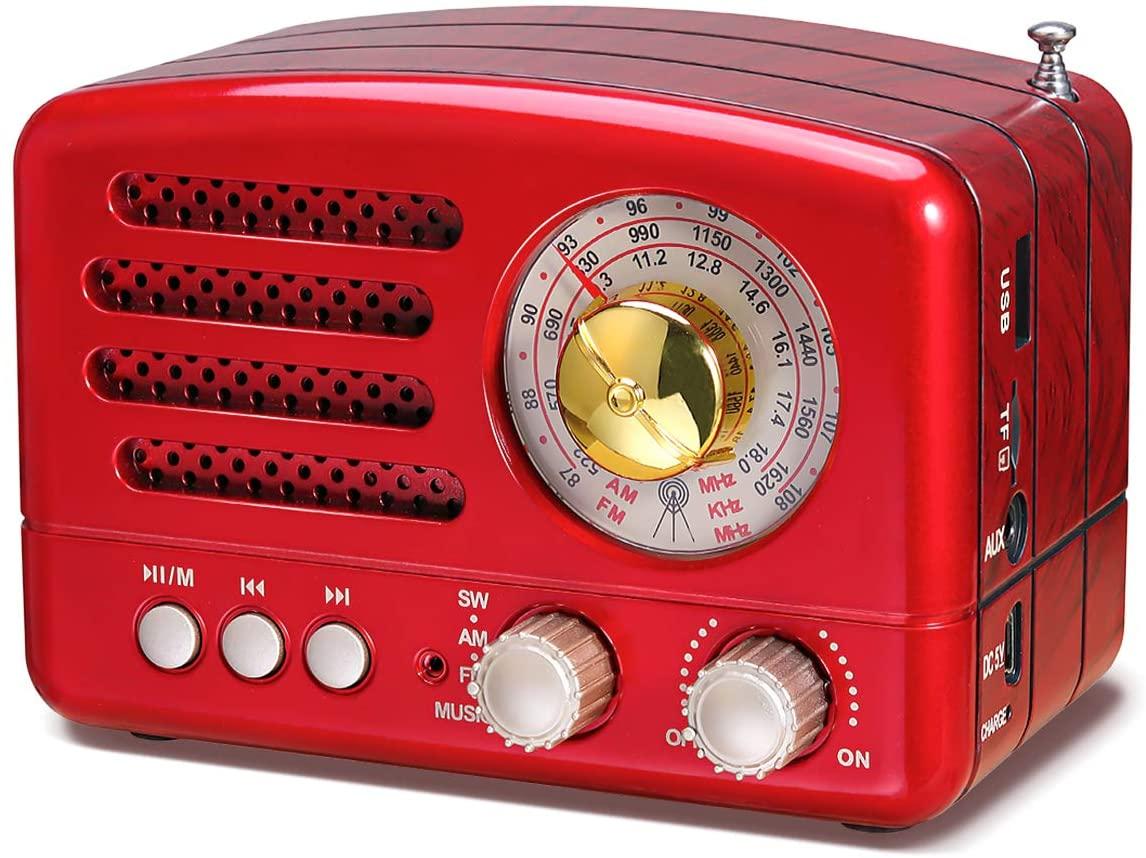 Amazon PRUNUS J 160 Radio de Transistor Vintage