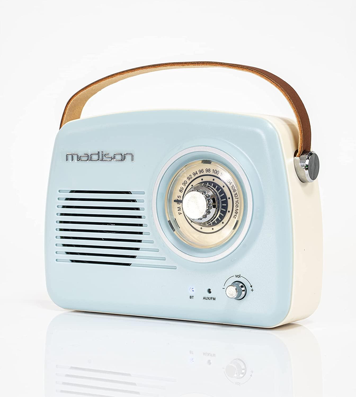 Amazon Freesound VR30 Madison Radio Vintage con Bluetooth