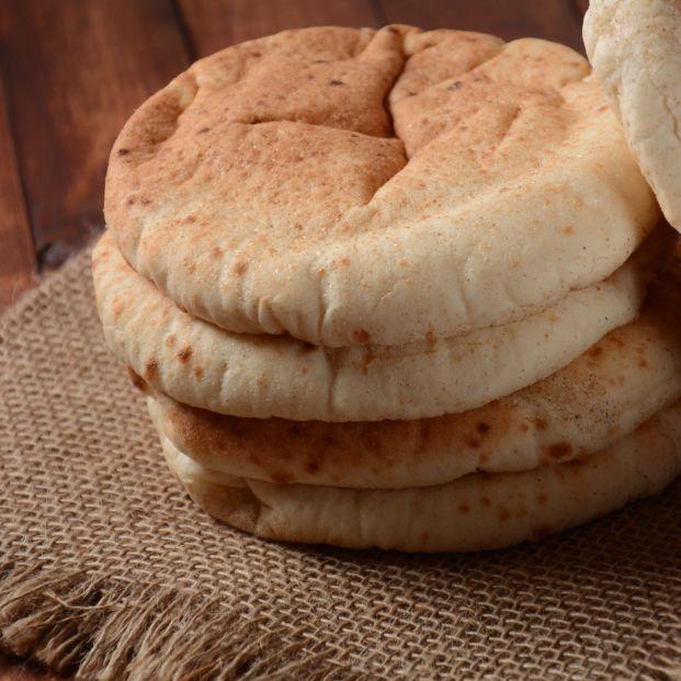 Te contamos cómo puedes preparar tu pan de pita casero. Foto: bigstock