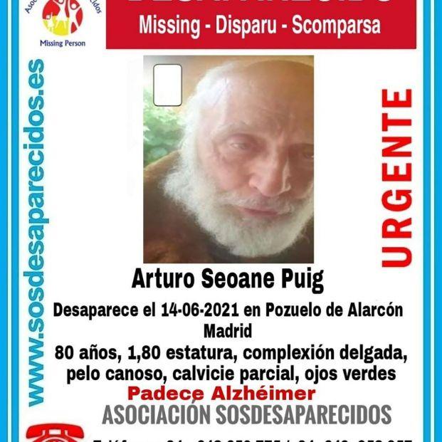 La Policía busca en Madrid a un hombre con alzhéimer desaparecido desde el lunes