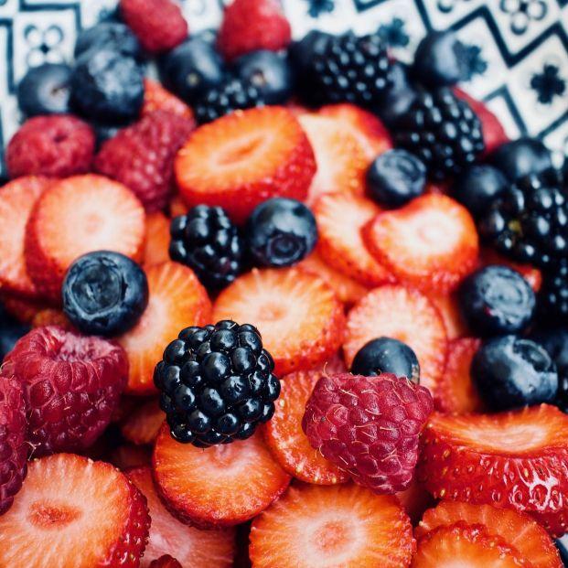 Frutos rojos, fuente natural de antioxidantes