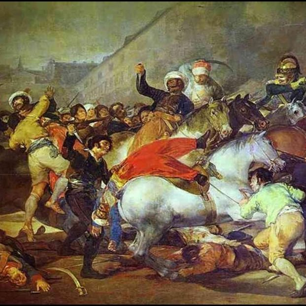 Novelas sobre la Guerra de la Independencia Española: 'La carga de los mamelucos'