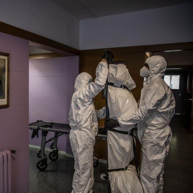 'Archivo Covid', el proyecto que busca crear una memoria visual de la pandemia en España. Foto: Europa Press