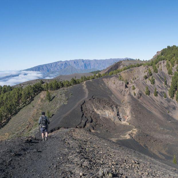 La ruta de los volcanes de La Palma. Foto: bigstock