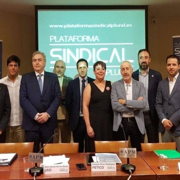 La Plataforma Sindical Plural pide que se paralice de forma inmediata la reforma de pensiones