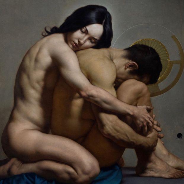 46 obras del 'Caravaggio moderno' que retrató al Papa Francisco y que podrás ver en el MEAM de Barcelona (Foto-Roberto Ferri: robertoferri.net)