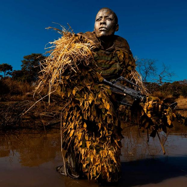 Akashinga. Foto de Brent Stirton, finalista en el World Press Photo 2019 (BrentStirton) (Fundación Cajasol)