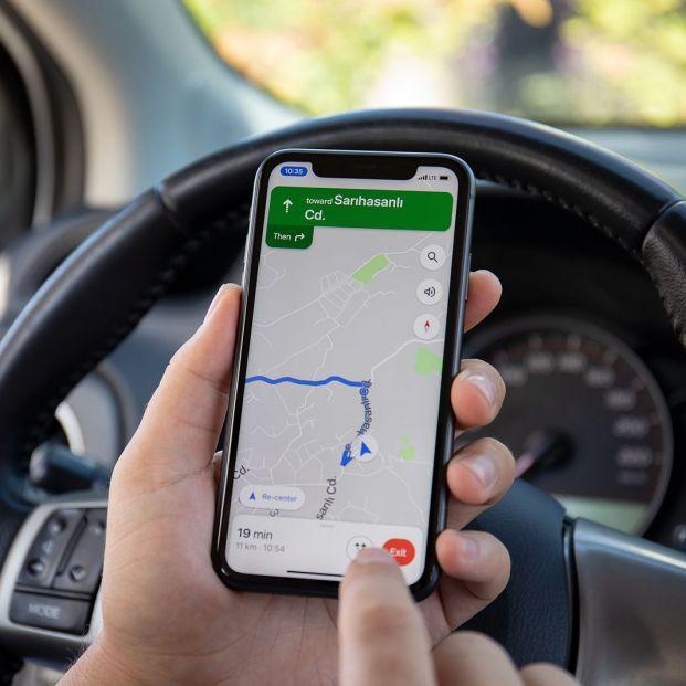 Activa el nuevo modo de conducción de Google Maps con Google Assistant Foto: bigstock