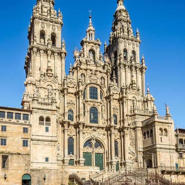 Santiago de Compostela en un fin de semana. Foto: bigstock