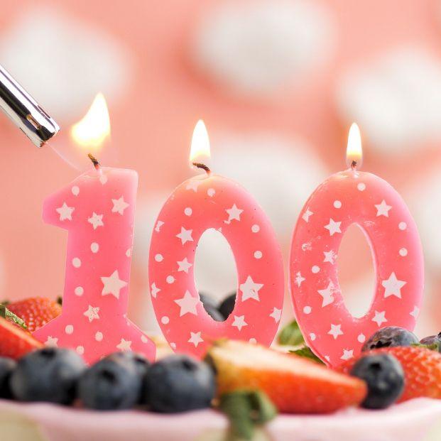 bigstock Birthday Cake Number Pink 421653509