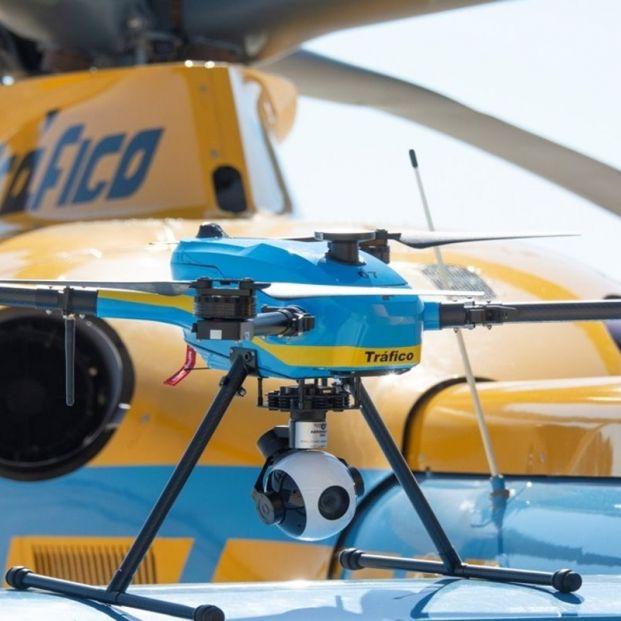 Distribuidos los 39 drones que vigilarán las carreteras españolas este verano. Foto: Europa Press