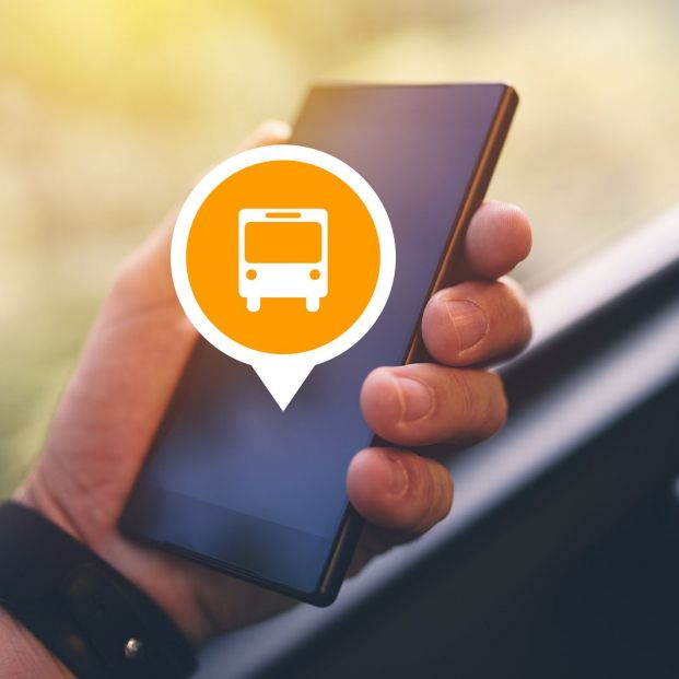 Cómo funcionan las apps para saber cuánto va a tardar el autobús (Bigstock)