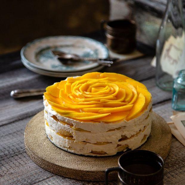Prepara este tiramisú de mango, un postre para sorprender. Foto: bigstock