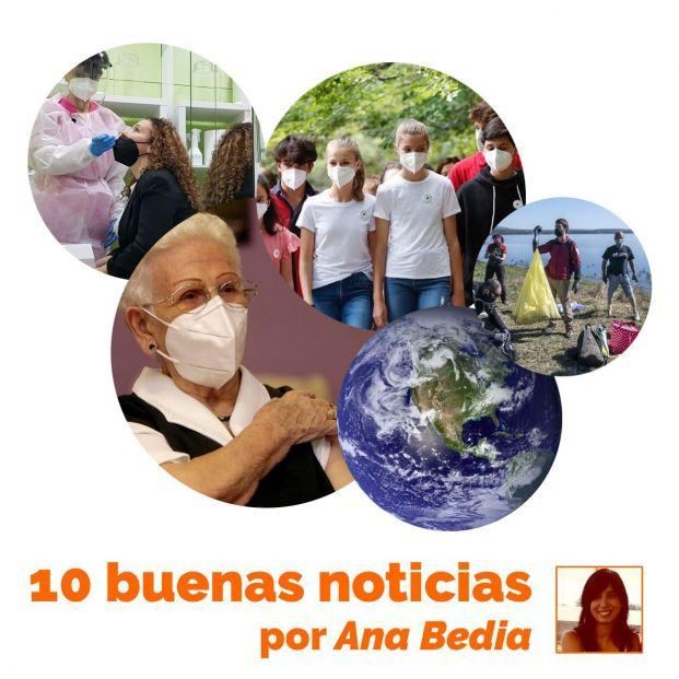 Las 10 buenas noticias de hoy 15 de julio: Araceli toma la palabra