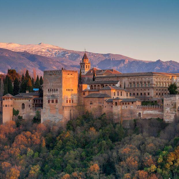 bigstock Alhambra Palace Granada Spai 69581224