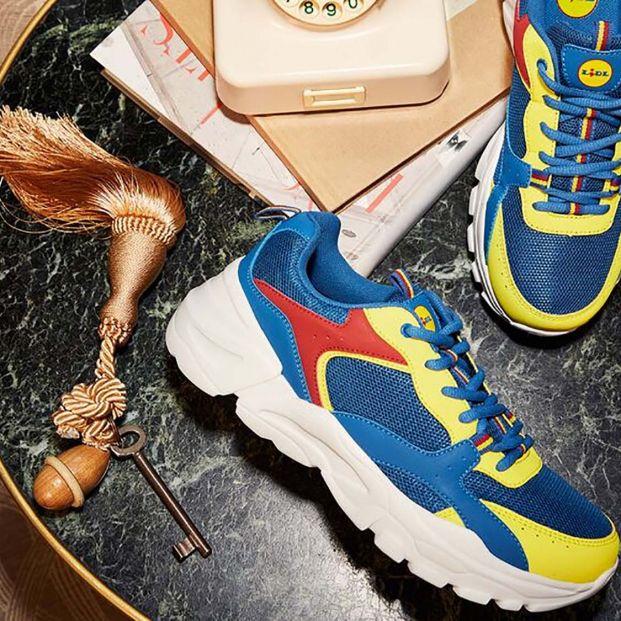 Vuelve la locura de las zapatillas multicolor de Lidl