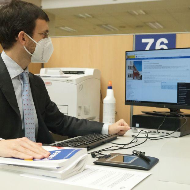 La Agencia Tributaria lanza su nueva web para ayudar al contribuyente en sus gestiones por Internet. Foto: Europa Press
