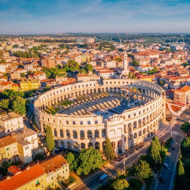 Recorremos el mundo buscando los anfiteatros romanos más bonitos. Foto: bigstock