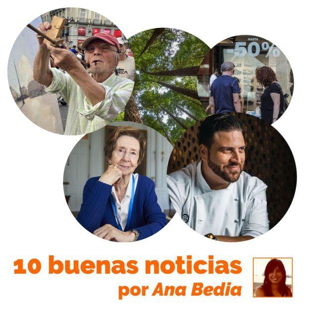 Las 10 buenas noticias de hoy 19 de julio: Xanty Elías, Margarita Salas y Antonio López