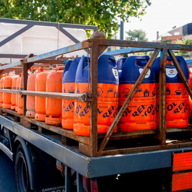 El precio de la bombona de butano sube un 5% a partir de este martes, alcanzando los 15,37 euros. Foto: Europa Press