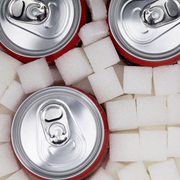 bigstock White Sugar Cubes With Soda Ca 378690385