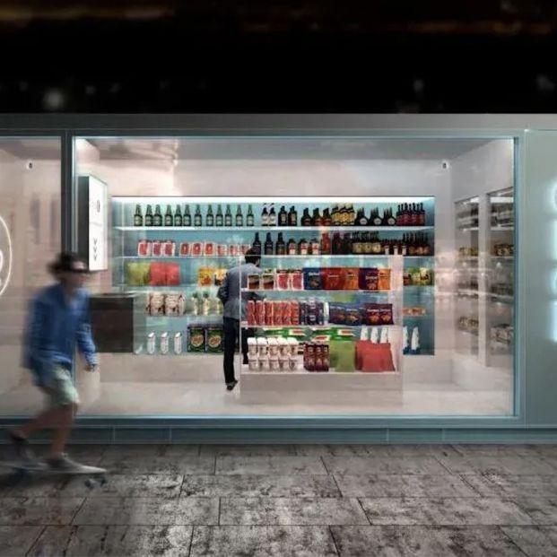 El primer supermercado sin empleados de España, abre sus puertas en Madrid (Foto: página web de Ghop)