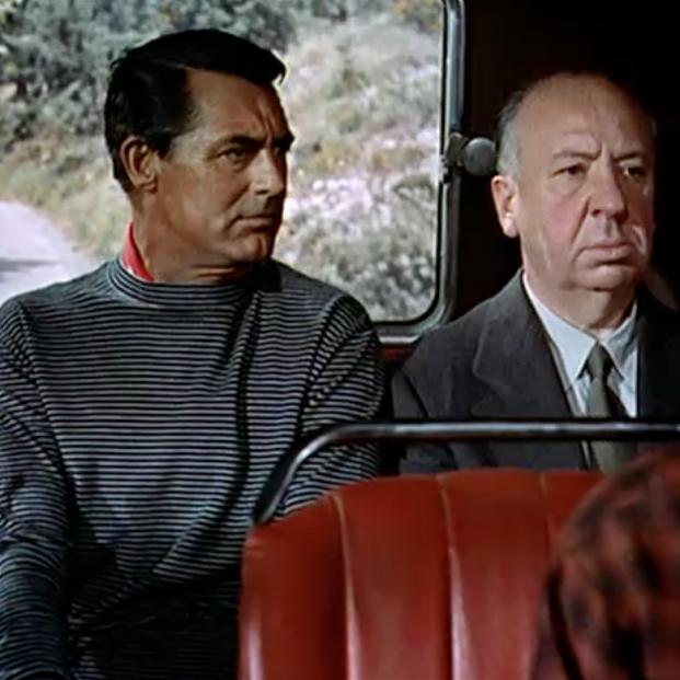 Cameo de Alfred Hitchcock en 'Con la muerte en los talones'