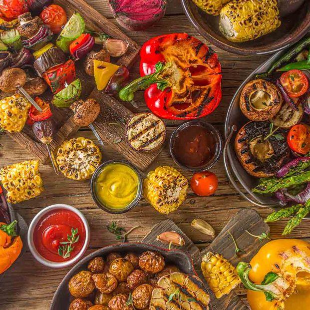 Las verduras sí son para el verano (y para la barbacoa)