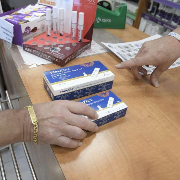 ¿Cuánto cuesta el test de antígenos en las farmacias? Foto: Europa Press