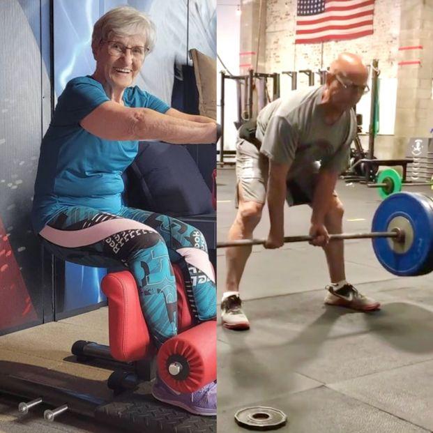 4  influencers del deporte mayores de 70 años que seguir en Instagram