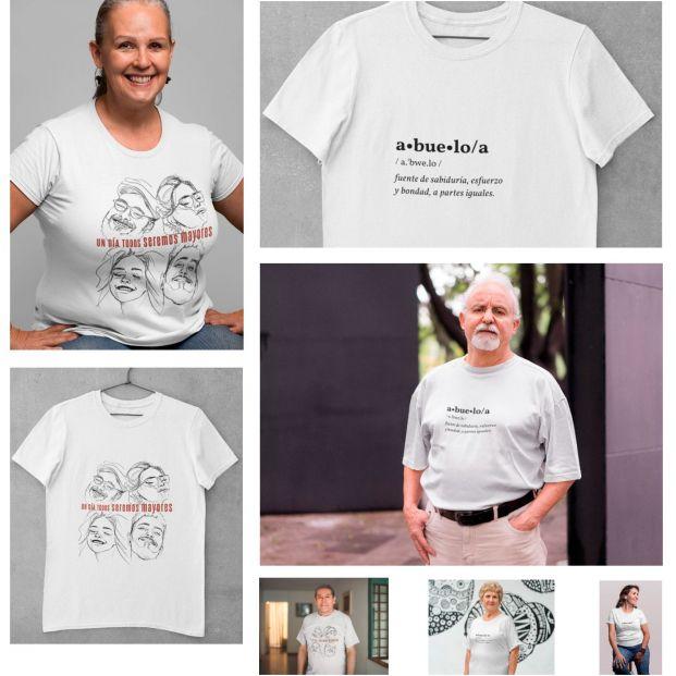 """""""Todos seremos mayores"""": la colección de camisetas solidarias que empodera y homenajea a los mayores"""