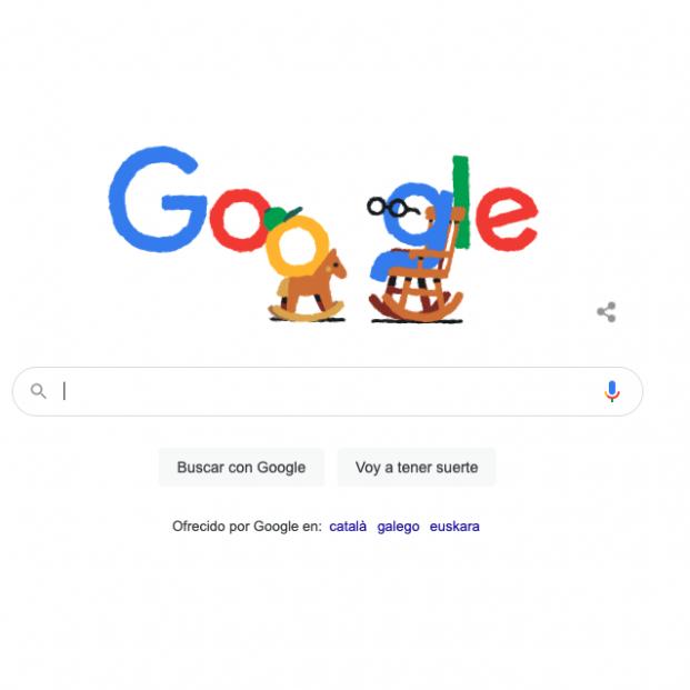 Google celebra el Día de los Abuelos con un 'doodle' especial