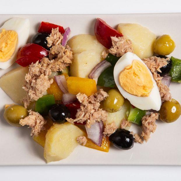 Cómo hacer la mejor ensalada campera este verano. Foto: bigstock