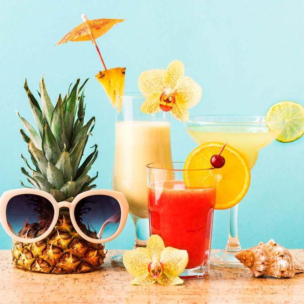 Cómo hacer en casa Mojito, Tequila sunrise, Bloody Mary, Piña colada y Margarita de sandía