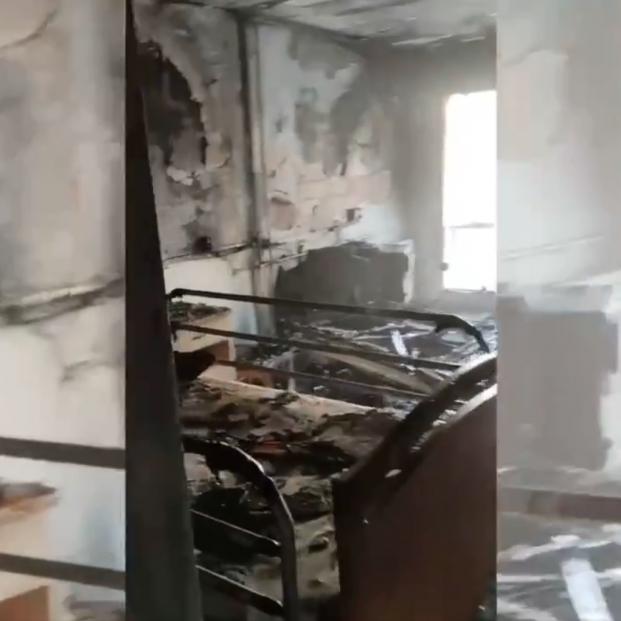 El incendio de un colchón de una residencia de Torrevieja deja dos personas heridas, una grave