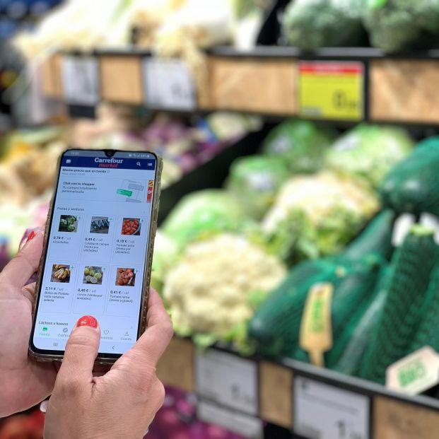 Ya puedes comprar en el supermercado con tu propio 'personal shopper'