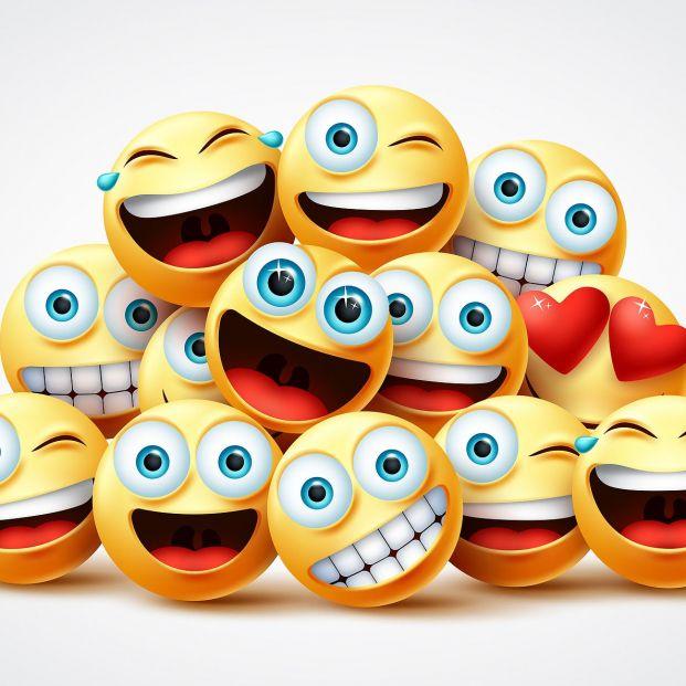 Llegan a Facebook Messenger los emojis que hablan Foto: bigstock