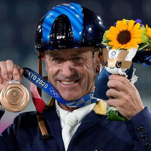 Andrew Hoy, doble medallista en los JJOO de Tokio a los 62 años