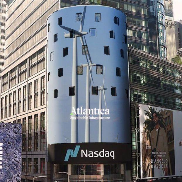 Atlantica factura un 31% más hasta junio y declara un dividendo trimestral de 0,43 dólares