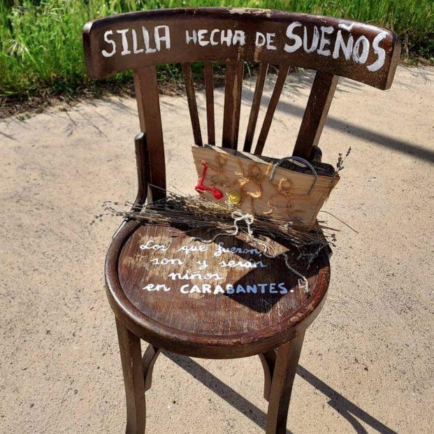 La 'Silla Solidaria' que lucha contra la despoblación en la provincia de Soria