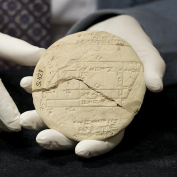 El ejemplo de geometría aplicada más antiguo del mundo. Foto: UNSW Sydney