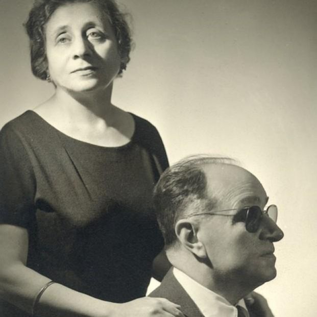 Joaquín Rodriguez, creador del concierto de Aranjuez,  y su esposa (joaquin-rodrigo.com)