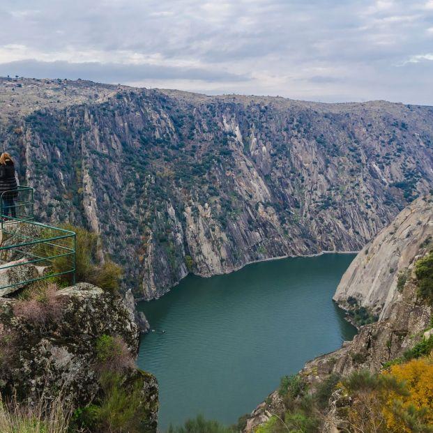 Parque Natural Los Arribes del Duero(bigstock Mirador Del Fraile)